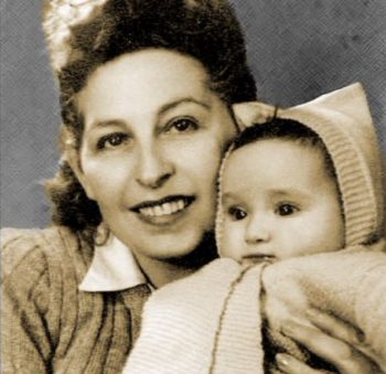 Hedy Schleifer and her mother Miri